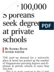 Over 100,000 Sporeans Seek Degrees at Private Schools_ST_171011