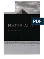 Miller, Daniel - Materiality
