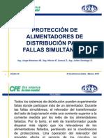 11. PROT. DE ALIMENTADORES DE DISTR. PARA FALLAS SIMULTÁNEA