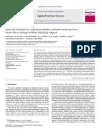 Optically Transparent, Super Hydrophobic Methyltrimethoxysilane Based Silica Coatings Without Silylating Reagent