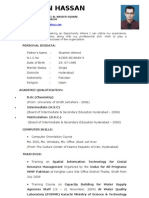 CV Mohsin Hassan