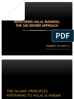 Developing Halal Business the 360 Degree Approach Mauritius Conference Presentation