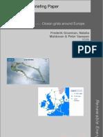 Ocean grids around Europe