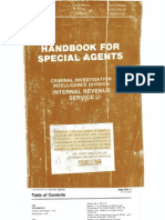 Irs Secret Cid Handbook Part 1 Book