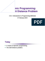 Dynamic Programming Lecture