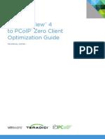 VMware View PCoIP Zero Client Optimization Guide TN En