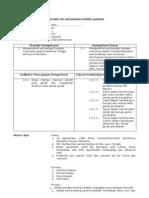 Contoh Rencana Pelaksanaan Pembelajaran