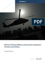 UN Use of Private Military and Security Companies