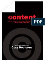 Content by Cory Doctorow
