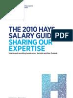 Hays Salary Guide 2010 AU Off Nrg Oil