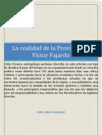 Realidad de La Provincia de Fajardo