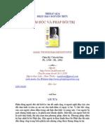 Tam Doc Va Phap Doi Tri - Ps Maha ThongKham