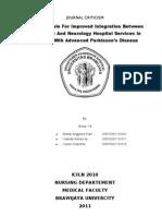 Management of Advanced Parkinson