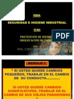 (Prevencion de Riesgos y Observaciones de Tareas2010)
