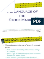 39_language of the Stock Market- Power Point Presentation