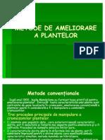 Metode de Ameliorare a Plantelor