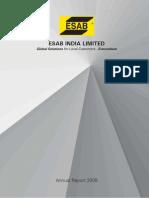 Esab Annual Report 2008