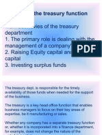 Fely Function of Treasury