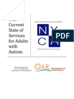 The Current State of Services for Adults with Autism (2009)