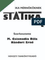 Mechanika mérnököknek - Statika - M Csizmadia Béla Nándori Ernő