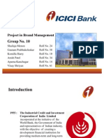 projectinbrandmanagement-icicibank-100121034248-phpapp01