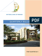 National Bank of Rwanda Quarterly Bulletin First Quarter 2011