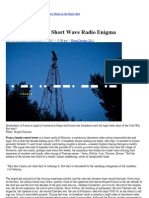 Inside the Russian Short Wave Radio Enigma | Magazine