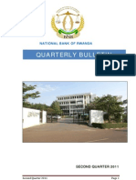 National Bank of Rwanda Quarterly Bulletin Second Quarter 2011