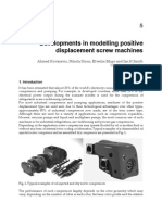 Developments in Modelling Positive Displacement Screw Machines