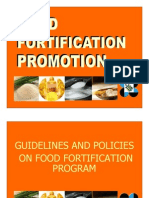 Guidelines and Policy-Food Forti--10!19!10 [Compatibility Mode]