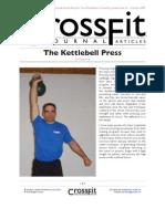 62 07 Kettle Bell Press