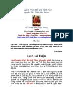 Khuyen Phat Bo de Tam Van - Tinh Am Dai Su - HT Tuyen Hoa Giang