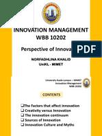 Chapter 1 Innovation Management