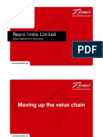 Case Study Moving Up the Value Chain