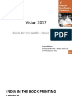 Book Printing Industry Vision 2017