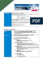 Programme Autrans 2012