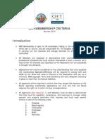 Bar Membership Criteria 2010 (i) January Updated