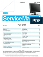 Manual Servico Monitor Lcd Aoc 1619sw