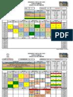 horarios primero 2011-2012
