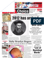 Weekly Choice - January 05, 2012