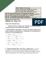 week 9 Math