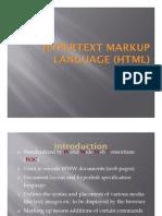Basics of HTML