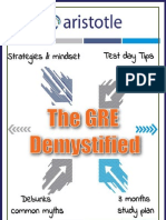 The GRE Demystified