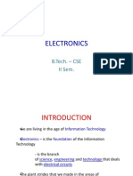 Electronics Intro Anitha