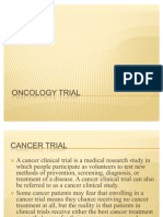 Oncology Trial