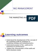 LECT 03 Marketing Audit
