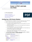 VSX Clustering Active Configuration IPSO 5
