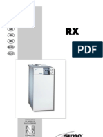 Sime RX Range Installation Manual