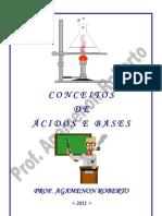 conceitos de ácidos e bases