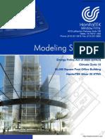 Hanitatek-HanitaTek Modelling Summary Ver 1